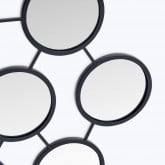 Specchio da parete in metallo (55,8x83,5 cm) Favus, immagine in miniatura 2