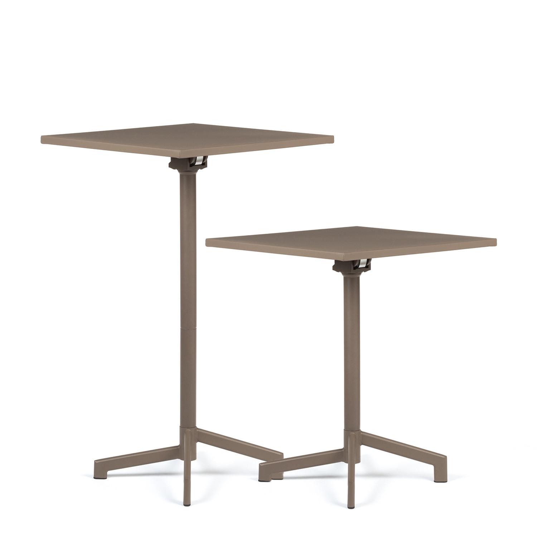 Mobile Bar Per Esterno tavolo quadrato da bar dely regolabile a 2 altezze