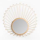 Specchio da parete in metallo (61,5x61 cm) Bïggy, immagine in miniatura 3