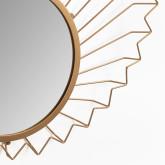 Specchio da parete in metallo (61,5x61 cm) Bïggy, immagine in miniatura 4