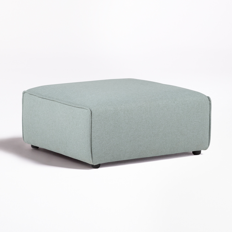 Puff per divano componibile in tessuto Aremy, immagine della galleria 1
