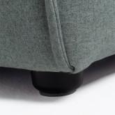 Puff per divano componibile in tessuto Aremy, immagine in miniatura 5
