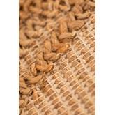 Tappeto in juta naturale (180x120 cm) Borom, immagine in miniatura 5