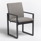 Pack Mesa Extensible para Exterior Starmi 180 cm - 240 cm & 6 Sillas con Reposabrazos de Exterior Fhati