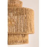 Lampada da soffitto Kena in carta intrecciata, immagine in miniatura 3