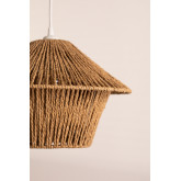 Lampada da soffitto Jous in carta intrecciata, immagine in miniatura 5