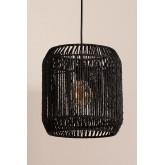Lampada da soffitto in carta intrecciata Ydae, immagine in miniatura 2