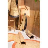 Tappeto rotondo in iuta naturale Dagna Colors, immagine in miniatura 4