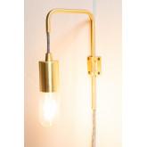 Lampada da parete metallica Alli, immagine in miniatura 3