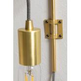 Lampada da parete metallica Alli, immagine in miniatura 4