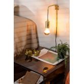 Lampada da parete metallica Alli, immagine in miniatura 1