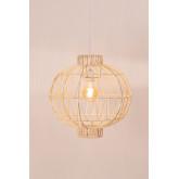 Lampada da Soffitto in Rattan (Ø40 cm) Guba, immagine in miniatura 2