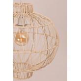 Lampada da Soffitto in Rattan (Ø40 cm) Guba, immagine in miniatura 4