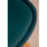Confezione da 4 sgabelli medi con cuscino imbottito Nordic SK, immagine in miniatura 6
