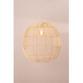 Lampada da Soffitto in Rattan (Ø50 cm) Api, immagine in miniatura 4