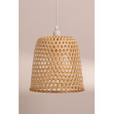 Lampada da Soffitto in Rattan (Ø30 cm) Kalde, immagine in miniatura 3