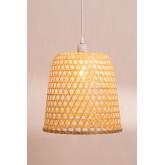 Lampada da Soffitto in Rattan (Ø30 cm) Kalde, immagine in miniatura 4