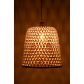 Lampada da Soffitto in Rattan (Ø30 cm) Kalde, immagine in miniatura 5
