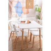 Set tavolo reale e 4 sedie reali, immagine in miniatura 6