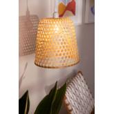 Lampada da Soffitto in Rattan (Ø30 cm) Kalde, immagine in miniatura 2