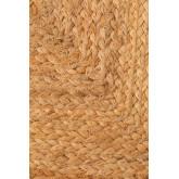 Puff quadrato in juta naturale Orsen, immagine in miniatura 5