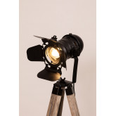 Lampada da terra treppiede Cinne, immagine in miniatura 4