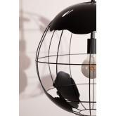 Lampada da soffitto in metallo Mundi, immagine in miniatura 5
