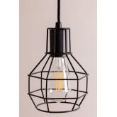 Lampada da soffitto in metallo Ivan, immagine in miniatura 5