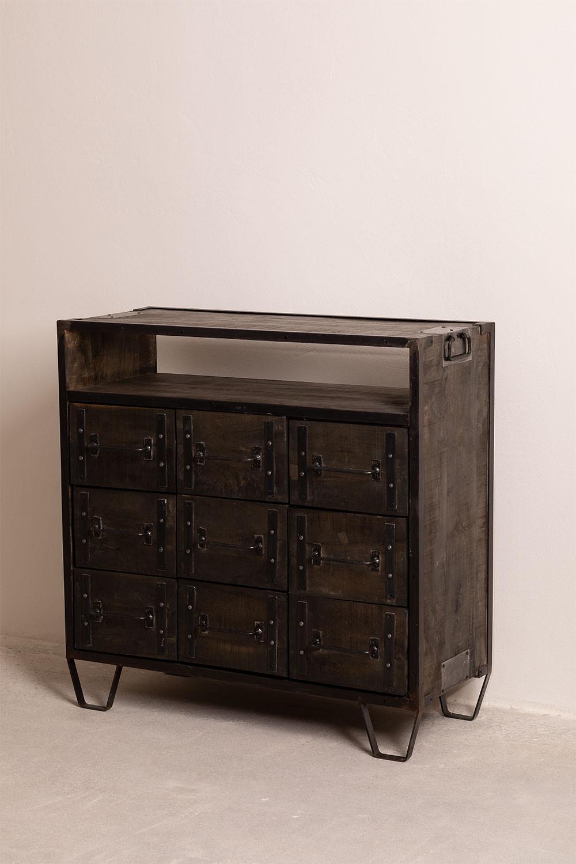Cassettiera in legno Warce , immagine della galleria 1