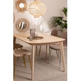 Tavolo da pranzo rettangolare in legno Elba, immagine in miniatura 5