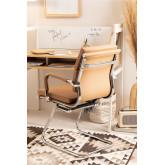 Sedia Ufficio Metal con Braccioli Mina, immagine in miniatura 2