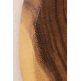 Specchio da parete rotondo in legno (33,5x30,5 cm) Vrao, immagine in miniatura 5