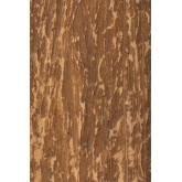 Specchio da parete quadrato in legno riciclato (50x50 cm) Taipu, immagine in miniatura 4