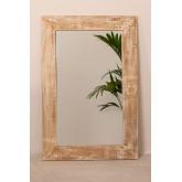 Specchio da parete rettangolare in legno (120x80 cm) Vuipo, immagine in miniatura 3