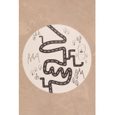 Tappeto rotondo in vinile (Ø150 cm) Nirar Kids, immagine in miniatura 1
