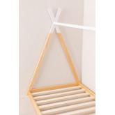 Letto in legno per materasso da 90 cm Typi Kids, immagine in miniatura 3