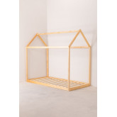 Letto in legno per materasso 90 cm Obbit Kids, immagine in miniatura 2