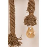 Lampada a sospensione in legno Savy, immagine in miniatura 5