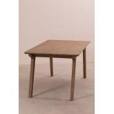 Tavolo da pranzo rettangolare in legno (180x90 cm) Dheos, immagine in miniatura 2