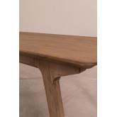 Tavolo da pranzo rettangolare in legno (180x90 cm) Dheos, immagine in miniatura 3