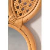 Specchio da parete in rattan (36,5x22 cm) Trovi, immagine in miniatura 4