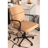Sedia da ufficio con ruote Fhöt Black, immagine in miniatura 1