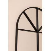 Specchio da Parete in Metallo Effetto Finestra (180x59 cm) Paola L, immagine in miniatura 4