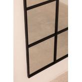 Specchio da Parete in Metallo Effetto Finestra (180x59 cm) Paola L, immagine in miniatura 5