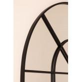 Specchio da Parete in Metallo Effetto Finestra (135x92 cm) Paola, immagine in miniatura 4