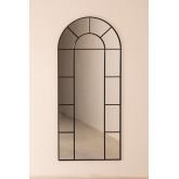 Specchio da Parete in Metallo Effetto Finestra (180x80 cm) Diana, immagine in miniatura 3