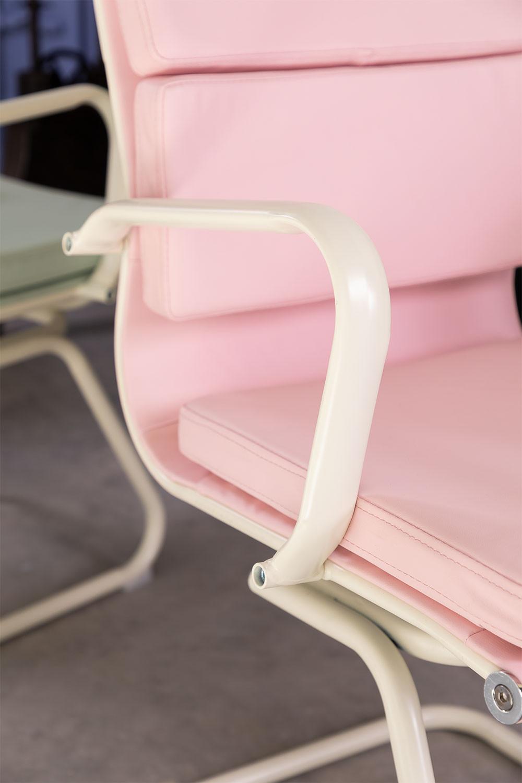 Sedia da ufficio con braccioli Mina Colors - SKLUM