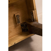Tavolo da pranzo pieghevole in legno Isden (180x90 cm), immagine in miniatura 6