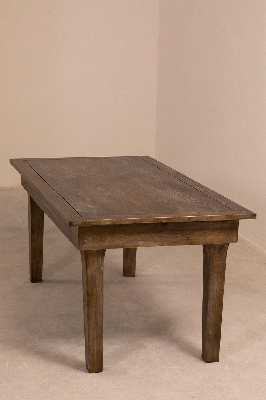 Tavolo da pranzo pieghevole in legno Isden (180x90 cm), immagine della galleria 1
