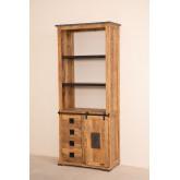 Armadio in legno Uain con quattro cassetti, immagine in miniatura 2